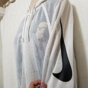 Nike Mesh Hooded Jacket